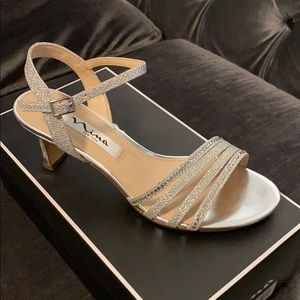 Perfect sliver sandal for special occasion